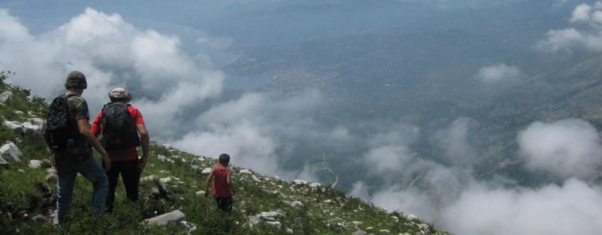 Trekking Und das Gebiet