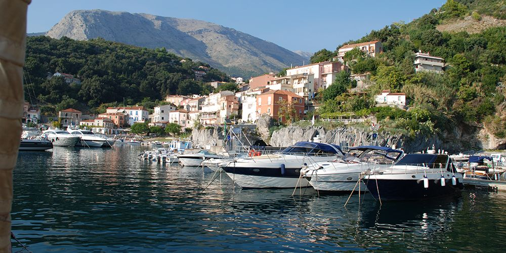 Le port de Maratea